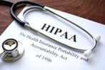 HIPAA manual and stethescope